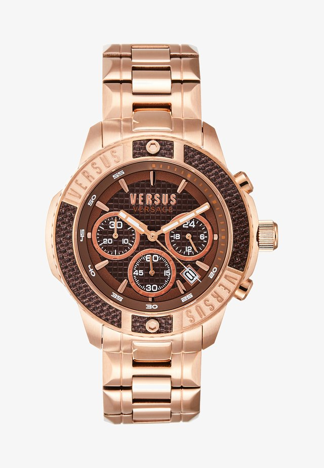 ADMIRALTY - Chronograph watch - gold-coloured/blue