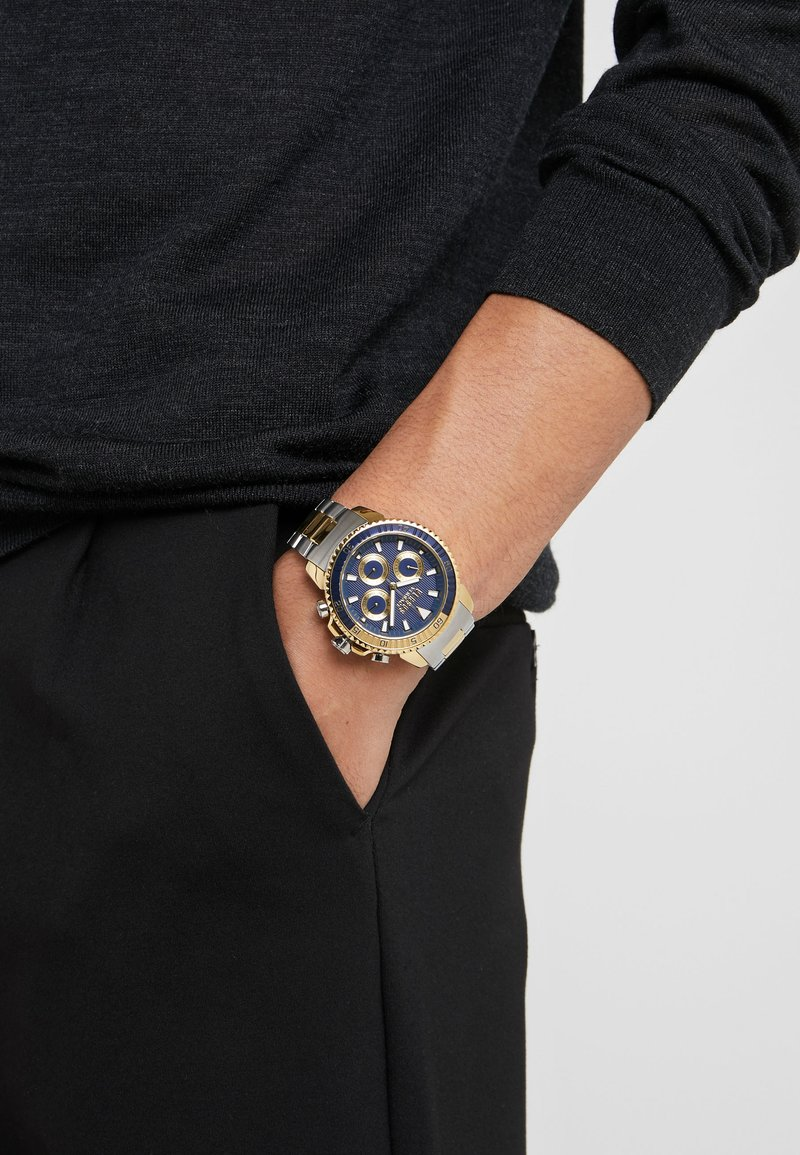 Versus Versace - ABERDEEN - Chronograph - silver-coloured/gold-coloured