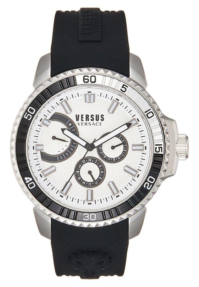 ABERDEEN EXTENSION - Horloge - silver-coloured/black