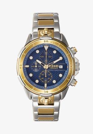 ARRONDISSEMENT - Zegarek chronograficzny - silver-coloured/gold-coloured