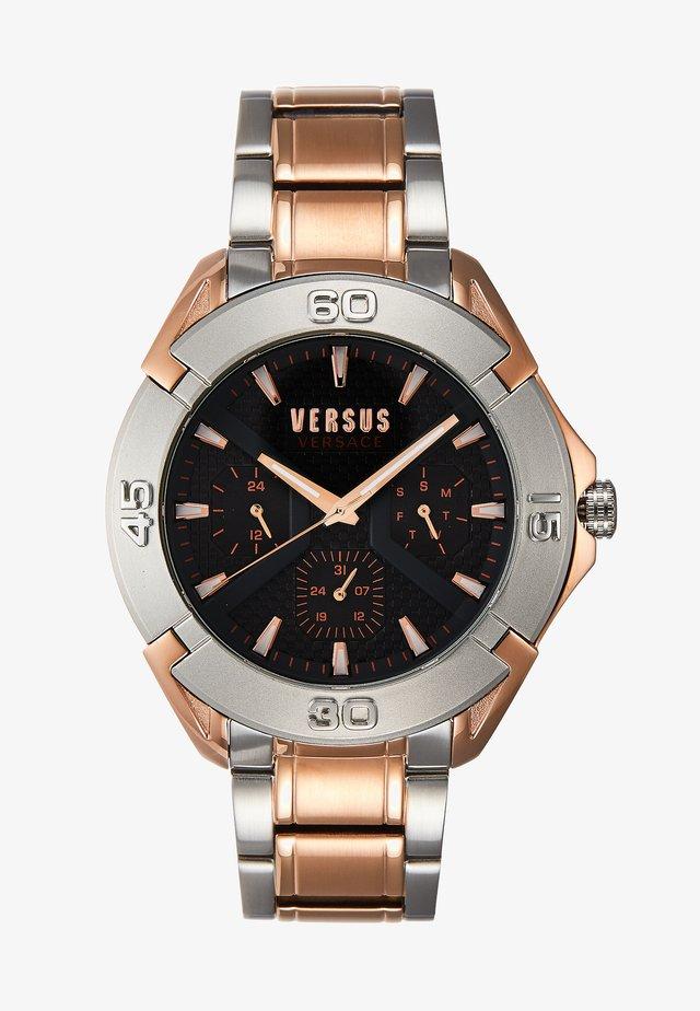 RUE OBERKAMPF - Watch - silver-coloured/rose gold-coloured