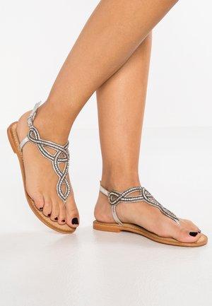 VMLIV - T-bar sandals - silver