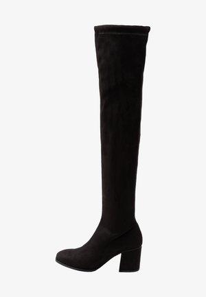 VMCLARE BOOT - Stivali sopra il ginocchio - black