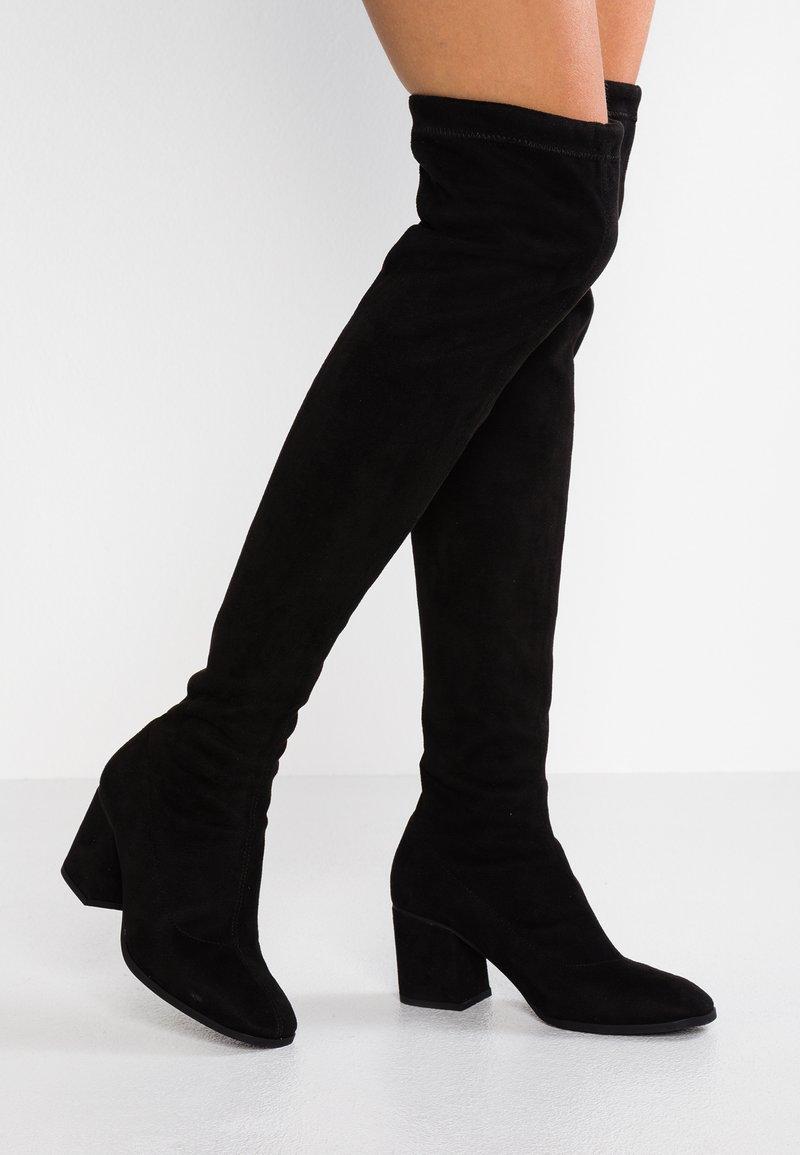 Vero Moda - VMCLARE BOOT - Cuissardes - black