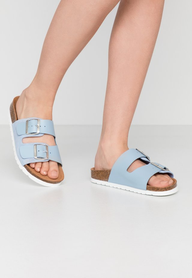 VMCARLA - Slippers - placid blue/silver