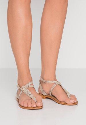 VMVICKY - T-bar sandals - pale gold