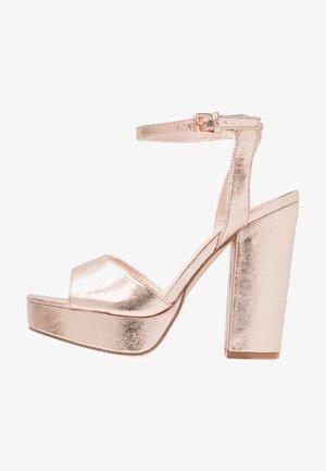 VMASTER - High heeled sandals - rose gold