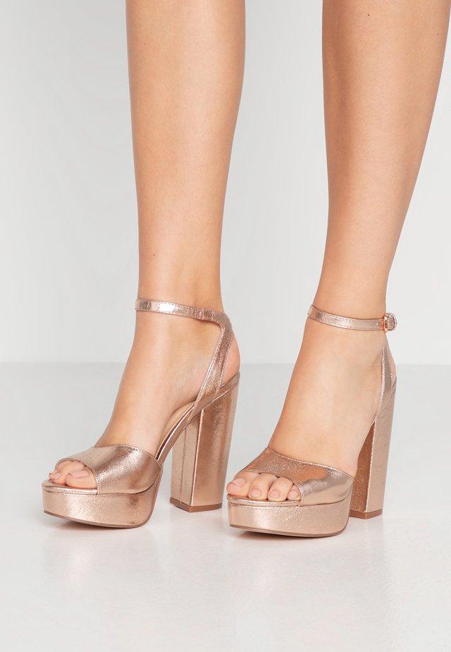 VMASTER - Sandaletter - rose gold