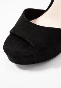 Vero Moda - VMCLOVER  - Sandalen met hoge hak - black - 2