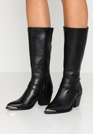 VMKELLO BOOT - Høje støvler/ Støvler - black
