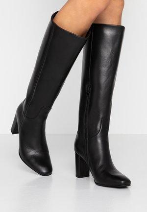 VMMARIANA BOOT - Vysoká obuv - black