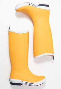 Vero Moda - VMLISE BOOT - Wellies - autumn blaze/navy - 3