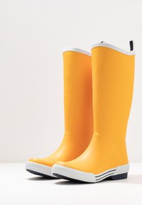 Vero Moda - VMLISE BOOT - Wellies - autumn blaze/navy - 4