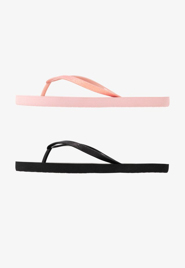 VMSIW 2-PACK - Pool shoes - strawberry cream/black