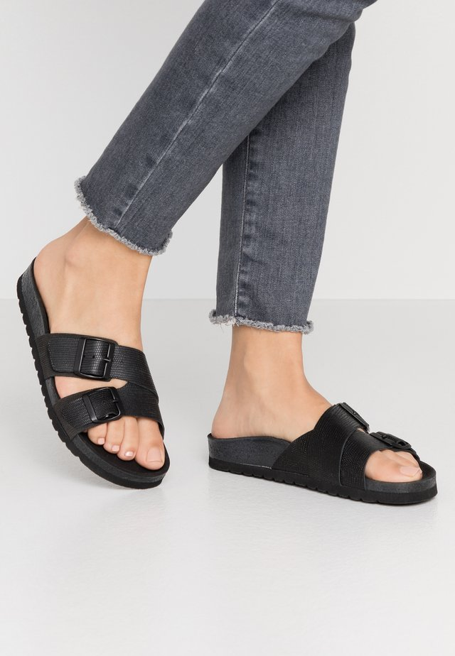 VMMILLA  - Slippers - black