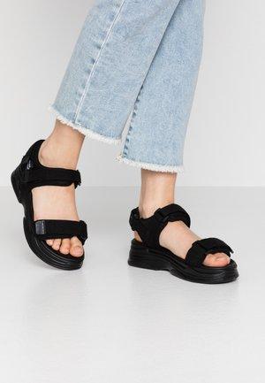 VMBENILLA - Korkeakorkoiset sandaalit - black