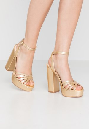 VMTHEA - High heeled sandals - pale gold