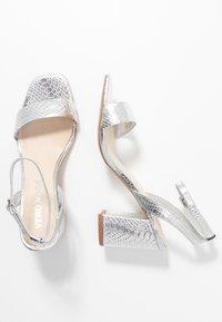 Vero Moda - VMLIVA - High heeled sandals - silver - 3