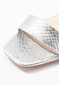 Vero Moda - VMLIVA - High heeled sandals - silver - 2