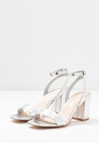 Vero Moda - VMLIVA - High heeled sandals - silver - 4