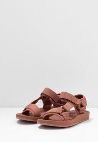 Vero Moda - VMMARY  - Walking sandals - marsala - 4