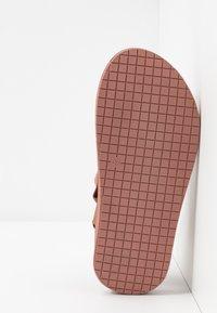 Vero Moda - VMMARY  - Walking sandals - marsala - 6