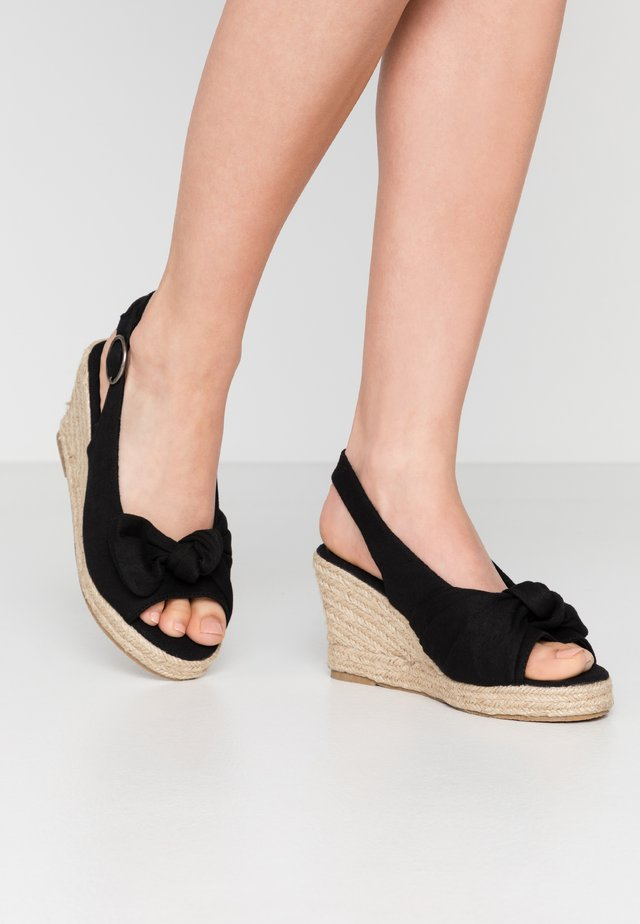 VMFRIDA WEDGE  - Espadrilles - black