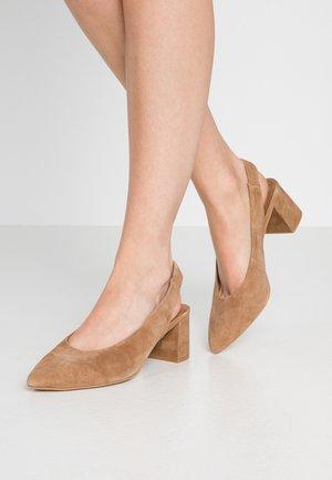 VMSIA  - Classic heels - tobacco brown