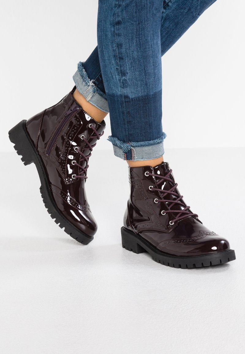 Vero Moda - VMGLORIA ELISE - Ankle Boot - zinfandel