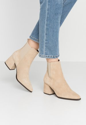 VMJOY BOOT - Classic ankle boots - beige