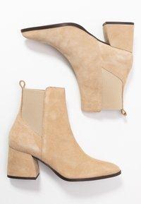 Vero Moda - VMJOY BOOT - Støvletter - beige - 3