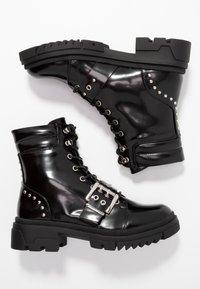 Vero Moda - VMTRI BOOT - Stivaletti texani / biker - black - 3