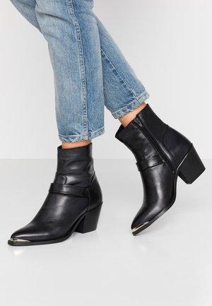 VMKENA BOOT - Kovbojské/motorkářské boty - black