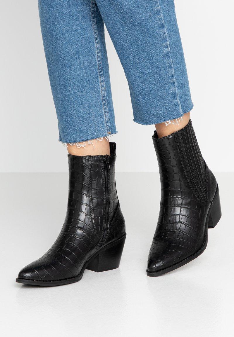 Vero Moda - VMTOA BOOT - Cowboystøvletter - black