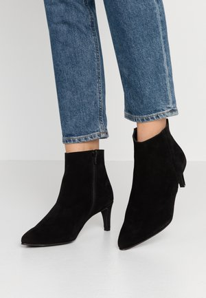 VMIBI  - Bottines à talons hauts - black