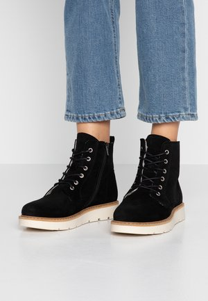 VMRIA BOOT - Lace-up ankle boots - black