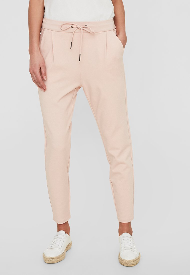 Vero Moda - VMEVA LOOSE STRING PANTS - Jogginghose - rose