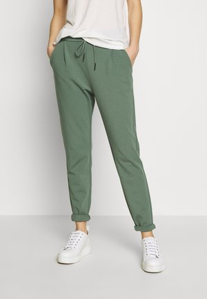 VMEVA MR LOOSE STRING PANT COLOR - Stoffhose - laurel wreath