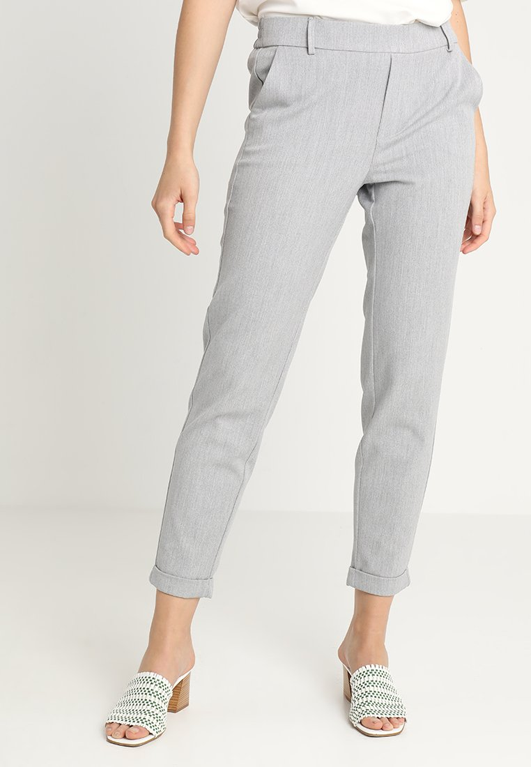 Vero Moda - VMMAYA - Trousers - light grey melange