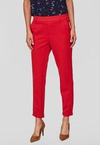 Vero Moda - VMMAYA - Trousers - red - 0
