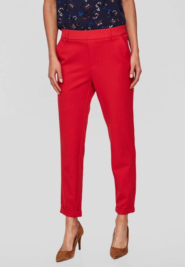 Vero Moda - VMMAYA - Trousers - red