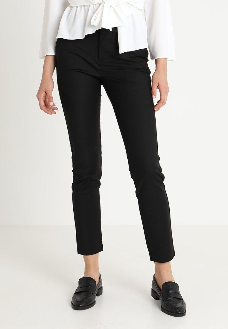 Vero Moda - VMLEAH - Spodnie materiałowe - black