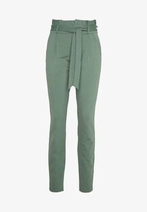 VMEVA PAPERBAG PANT - Trousers - laurel wreath