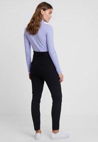 Vero Moda - VMEVA PAPERBAG PANT - Bukser - black - 2
