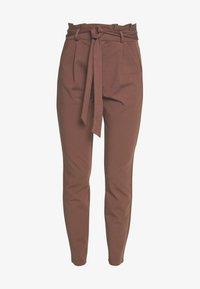Vero Moda - PAPERBAG - Pantalon classique - marron - 3