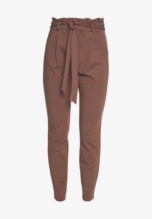 PAPERBAG - Kalhoty - marron