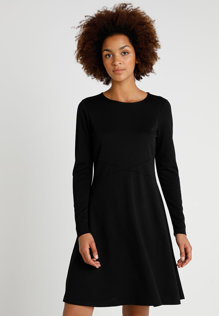 Vero Moda - VMPINTA DRESS LOCAL - Jerseykleid - black