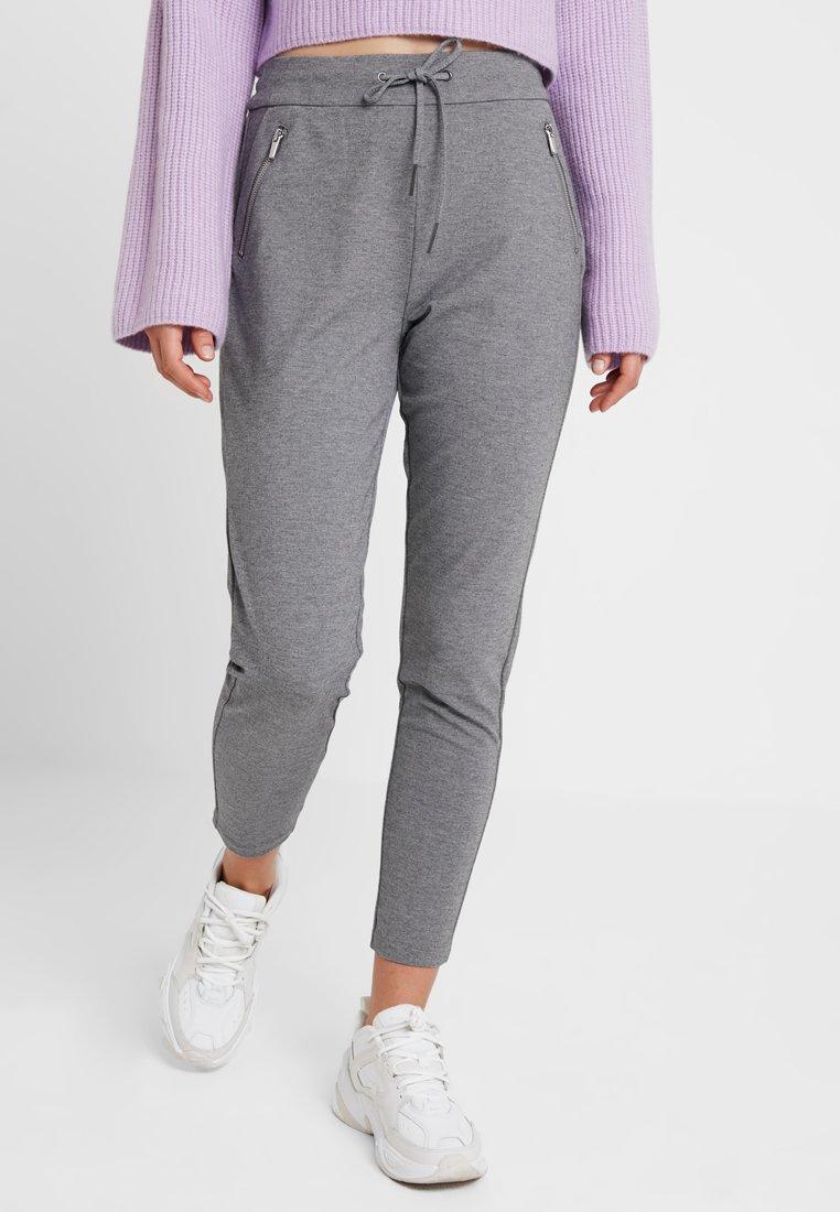 Vero Moda - VMEVA - Pantalones deportivos - medium grey melange