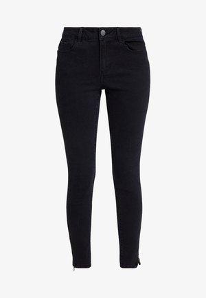 VMHOT SEVEN ANKLE ZIP PANTS - Skinny džíny - black