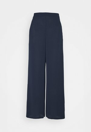 SAGA WIDE PANT - Stoffhose - navy blazer